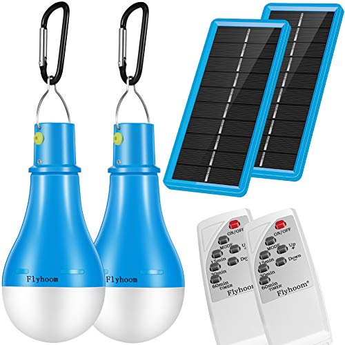 3 Led Portable Outdoor/Indoor Solar Light 2 Pack