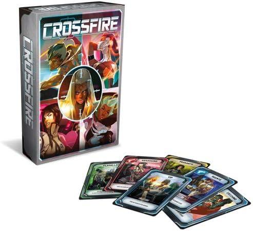 Asmodee- Crossfire-Juego de Mesa Edición en Italia, Color 9101: Amazon.es: Juguetes y juegos