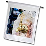 3dRose Danita Delimont - Objects - Turkey, Marmara, Bursa Province, Bursa, water fountain. - 18 x 27 inch Garden Flag (fl_277034_2)