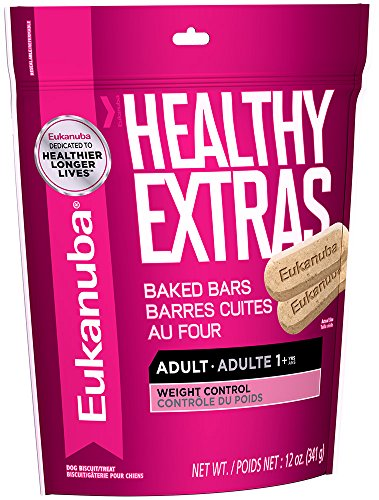 Eukanuba HEALTHY EXTRAS Adult Weight Control Dog Treats 12 (Extra Smart Key)