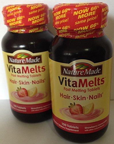 Nm Hair Skin Nails Vitame Size 100ct Nm Hair Skin Nails Vitaments 100ct