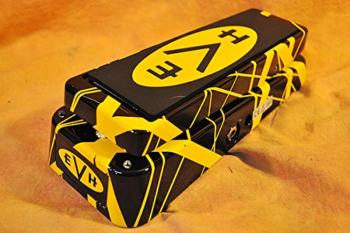 Dunlop EVH95 Eddie Van Halen Signature Wah Wah Pedal w/Bonus Deluxe Dunlop DTC1 Tuner 7-10137-02961-3