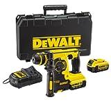 DeWalt 18V XR Lithium-Ion SDS Plus Rotary Hammer Drill includes 2 x...