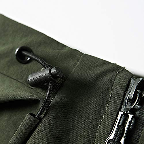 Pervobs Softshell Lined Pocket Hooded Outerwear