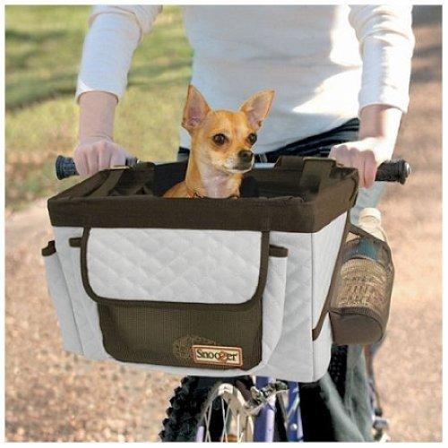 Snoozer Pet Bicycle Basket - Grey SN-85003