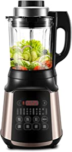 High Performance Blender, High Power Home and Commercial Blender with High Speed, Countertop Blender Food Processor with Self-Cleaning 1.75L Container