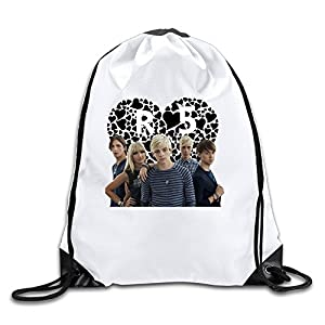 Acosoy R5 Band Ready Set Rock Drawstring Backpacks/Bags