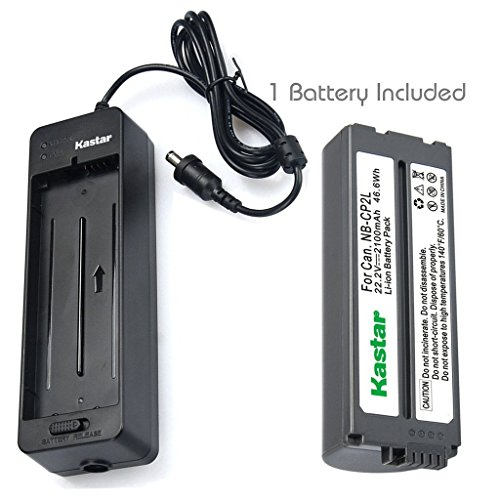 Kastar Battery x1 + Charger BG-CP200 for Canon NB-CP1L NB-CP2L & Compact Photo Printer SELPHY CP100 CP200 CP220 CP300 CP330 CP400 CP510 CP600 CP710 CP730 CP770 CP780 CP790 CP800 CP900 CP910 CP1200 (Cp790 Compact)