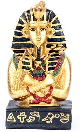Puckator - Tutankamón dorado con báculo y mayal: Amazon.es: Hogar