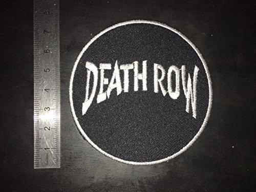 /Death Row/ Ecusson Patches aufnaher Toppa/ /termoadhesiva