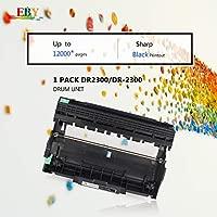 EBY DR2300 Tambor Compatible con Brother DR 2300 para Brother DCP-L2520DW,DCP-L2500D,DCP-L2520DW, HL-L2340DW,HL-L2360DN, HL-L2365DW, MFC-L2700DW, ...