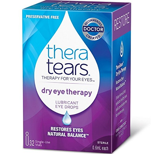 Thera Tears Dry Eye Therapy, 30 Vials each (Pack of 2)