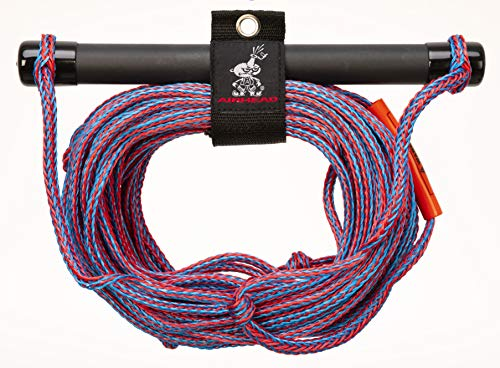 (AIRHEAD Ski Rope, Rubber Handle, 1 Section)