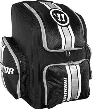 Warrior Covert Roller Hockey Player Backpack, One Size, Black/White/Grey HBBP2 BWG OSZ