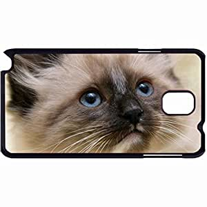 New Style Customized Back Cover Case For Samsung Galaxy Note 3 Hardshell Case, Back Cover Design Himalayan Mix Kitten Personalized Unique Case For Samsung Note 3