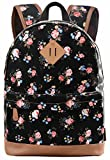School Bookbags for Girls, Floral Backpack College Bags Women Daypack Deal (Small Image)