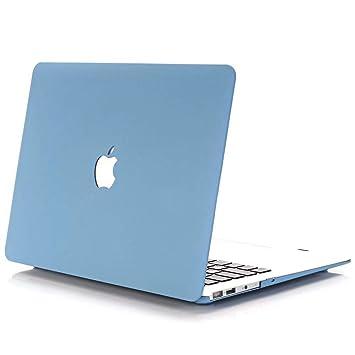 AJYX Funda para MacBook Pro 13 Modelo A1502/A1425, Carcasa Case Duro de Plástico para MacBook Pro 13.3 Pulgadas (Versión 2012-2015), LS Azul Cielo
