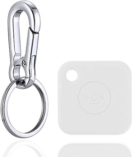 Skziri Silikon Schutzhülle Mit Schlüsselanhänger Kompatibel Mit Tile Mate Kratzfest Leicht Weiche Schutzhülle Gerät Nicht Im Lieferumfang Enthalten Weiß Elektronik