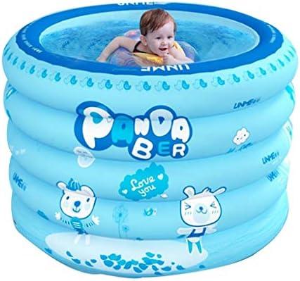 Piscinas hinchables Piscina for niños/Piscina Hinchable Redonda Familiar/Barril de baño de Engrosamiento Plegable/Capacidad máxima de Agua 300 litros Piscinas: Amazon.es: Hogar