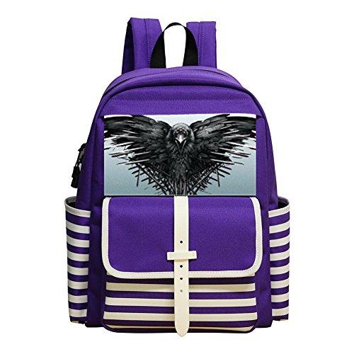 Flying Eagle New Style Rucksack Trend School Shoulder Backpak Book Bag Daypack