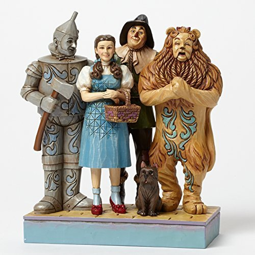 Jim Shore Wizard of Oz Dorothy Lion Scarecrow and Tin Man Figurine 4045414 ()