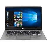 "LG 14Z970 - Portátil de 14"" Full HD (1 kilo, batería de 16.9h, Intel i5 7200U, 8 GB RAM, 256 GB SSD, Windows 10 Home 64) plata oscuro - teclado retroiluminado QWERTY español"