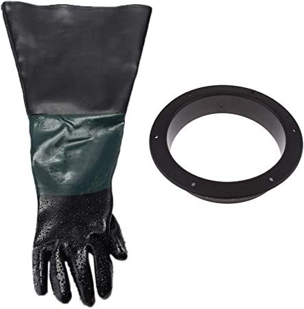 Porte-gants B Blesiya 2 Paires Gants Protection Mains Sableuse