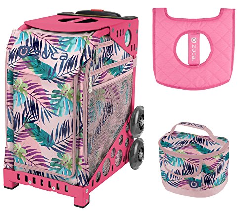 Zuca Sport Bag - Pink Oasis with Gift Lunchbox and Seat Cover (Pink (Pink Oasis)