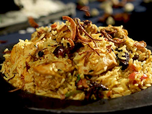 Chicken biryani ()