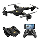 REALACC XS809HW Quadcopter Drone Wifi FPV 2.4G 4CH 6 Axis Altitude Hold Function Remote Control Drone with 720P HD 2MP Camera Drone RC Toy Foldable Drone