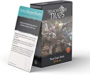 Dungeons and Dragons 5th Edition Deck of Cards – Treacherous Trap Deck: Lvl 5-8 by Nord Games – 50 Cards - Gam