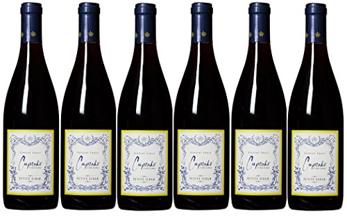 2014 Cupcake Vineyards Petite Sirah pack, 6 x 750 mL Red Wine