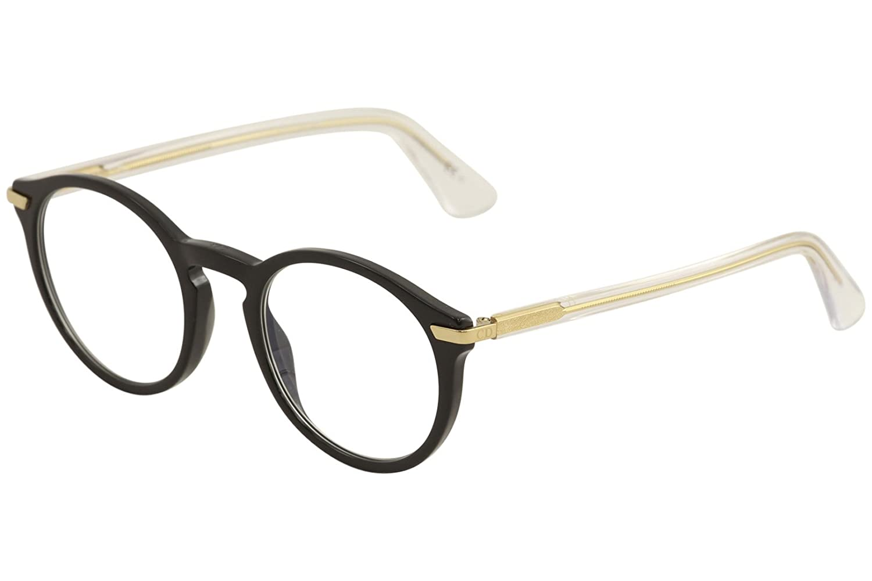 9dbd0eef750 Amazon.com  Christian Dior Eyeglasses Women s Essence 5 7CS Black Crystal  Optical Frame 49mm  Clothing