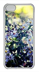 iPhone 5c case, Cute White Chrysanthemum 2 iPhone 5c Cover, iPhone 5c Cases, Hard Clear iPhone 5c Covers by lolosakes