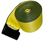 """Shippers Supplies 4"""" x 30' Winch Strap with"""