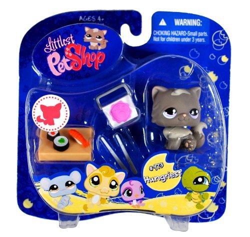 2008 Kittys - Hasbro Year 2008 Littlest Pet Shop Portable Pets