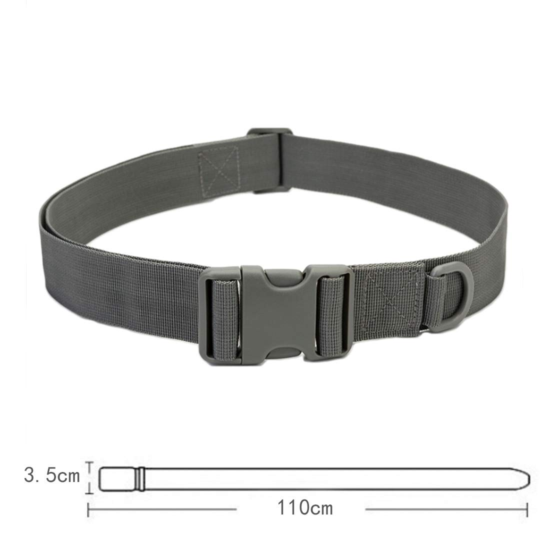 Huicai Mens tactical belt fashion breathable adjustable mens waist belt