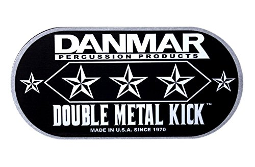 Danmar Metal Impact Badge - Double Kick