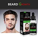 Coohole New Men Liquid Beard Growth Fast Enhance Facial Whiskers Nutrition Moustache (Clear)