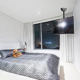 Loctek Ceiling TV Mount Adjustable Bracket For TV