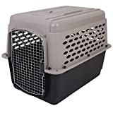 Petmate Vari Kennel Heavy-Duty Dog Travel Crate No-Tool Assembly 2 Sizes 2 Colors