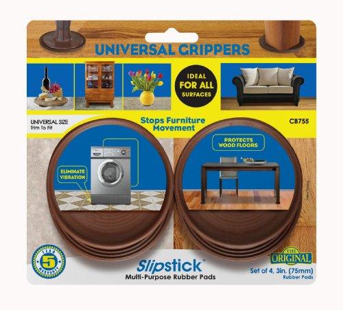 Slipstick Cb755 3 Inch Non Slip Rubber Floor Surface Protector Import It All