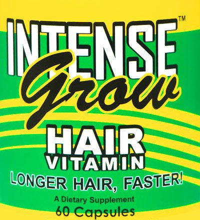 Galleon - Intense Grow Hair Vitamins 3 Pack Buy At The Lowest Price Ever For Fast Hair Growth ...