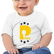 KF26 P Light Bulb Star Tees For Kids White Size 24 Months