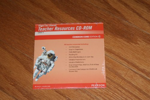 Prentice Hall Literature Cd-rom Common Core Edition Grade 8