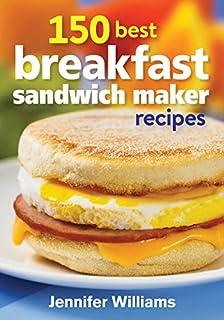 150 Best Breakfast Sandwich Maker Recipes (0778804844)   Amazon Products