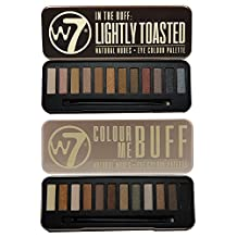 W7 In the Buff Eye Shadow Palette and In the Buff Lightly Toasted Eye Shadow Palette Set