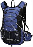 Mubasel Gear Insulated Hydration Backpack Pack with 2L BPA Free Bladder - Keeps Liquid Cool up to 4 Hours - for Running, Hiking, Cycling, Camping (Navy)