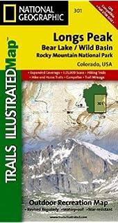 Longs Peak Rocky Mountain National Park Bear Lake Wild Basin National