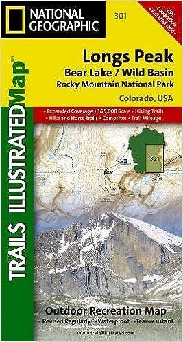 Longs Peak: Rocky Mountain National Park [Bear Lake, Wild Basin ...